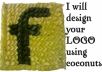 design your LOGO using Coconut Leaves