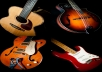 create 30 seconds of original instrumental guitar, ukulele, or mandolin music