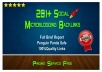make 201+ seo microblogging backlinks with high PR + Ping