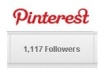 Create a Pinterest account with 500 followers
