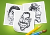 draw stunning caricature from your photo