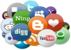 Add Your Site To 1000+ Social Bookmarks High Quality Backlinks + Ping
