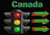 send 160+ Daily CANADA Real human website Visits For 30 Days