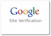 submit and verify your website at google