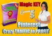 Show You My PINTEREST Crazy Traffic to Profit Method