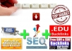 give 2EBOOKS about seo,promot website secret tips,make edu backlinks and earn money online