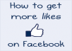 show you how to get unlimited facebook likes from real people to your fanpages and webpages for free