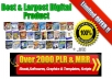 Give You over 2000 item Quality TOP PLR MRR Product