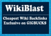 Create 19735+ AMAZING CONTEXTUAL WIKI Backlinks from 6630+ Unique WIKI domains, including edu, with full live links Report