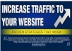 show you How to Jump Start Traffic in 4 Simple Ways