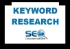 do a Complete SEO Keyword Research for Your Site to Rank 1st Page