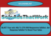 BlAST Your solo Ads To 270 000 Responsive USA Safelist