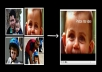 Great gift for any day. 10 photos come to life in amazing video. you get mp4 file. Also possible to get other format.