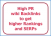 Build 250 PR2+ Wiki Contextual Links in a day for your Websites