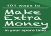 provide you with my research on 101 way to make $300 per month