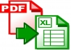 convert upto 5 pages PDF to excel