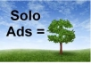 send your solo ad to 7500 members for