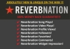 add 4000 Reverbnation Widget Views 4000+ Reverbnation Video Plays + 3000 Song Plays