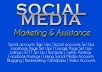 assist you with your social media accounts