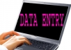 do any kind of data entry