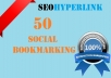 Do 50 Social Bookmarking For Your Website