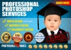 do any PHOTOSHOP job,Photo Editing,Retouching,Remove Background and Color Restoration in Photoshop CS6 within few hours