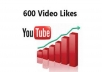 provide 600+ youtube genuine video likes in 24 hours