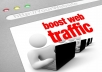 Send 30000 REAL Traffic human visitors to your website