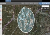 show you all social media posts in your area in real time
