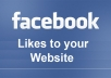 give 1500+ facebook likes to your website