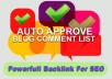 create 80 dofollow backlinks on HQ Blogs PR2 to PR5