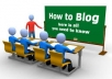 teach you a step by step procedure of how to create a blog and make money with it forgetting whatever you have read online