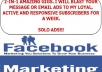 Advertise Your Link For 1 Week To My 920k Subscribers+6Million FB Group Members