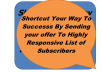 Blast Your SOLO Ads To My Highly responsive 75 300 Subscribers