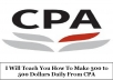 Teach You To Make 10,000Dollars With CPA In Your First Month