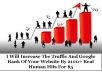 Increase The Traffic And Google Rank Of Your Website By 2100+ Real Human Hits