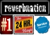 Get You 10k REVERBNATION Plays + 10k Video Plays + 10k Widget Impressions