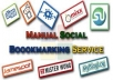 MANUALLY submit your website to over 40 PR9-PR2 social bookmarking sites and double-post your site to over 500,000+  REAL facebook group members