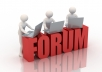 make 51 HQ posts on your forum