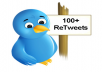 retweet your twitter tweet 100 times