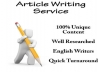 write 600 word quality article
