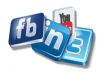 promote any URL or LINK to 1,235,640 active facebook groups and 89,935 Facebook fan
