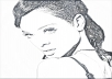 make a pencil photo sketch format of any picture