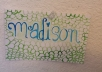 I will make a paisley patterned canvas or bookmark of any size ,color, and any other specifications such  as including your name in beautiful cursive.