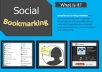 Provide 20+ Manual social Bookmarking Services To Your Websiter
