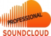 give you 50 SOUNDCLOUD Comments and 5000 Plays!!