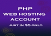 create linux cloud unlimited web hosting cPanel account for life time