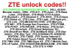 unlock your ZTE phone
