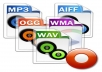 convert audio files, over 40 formats