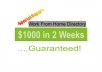 Send You A Work From Home Directory That Will Make You $100 Weekly